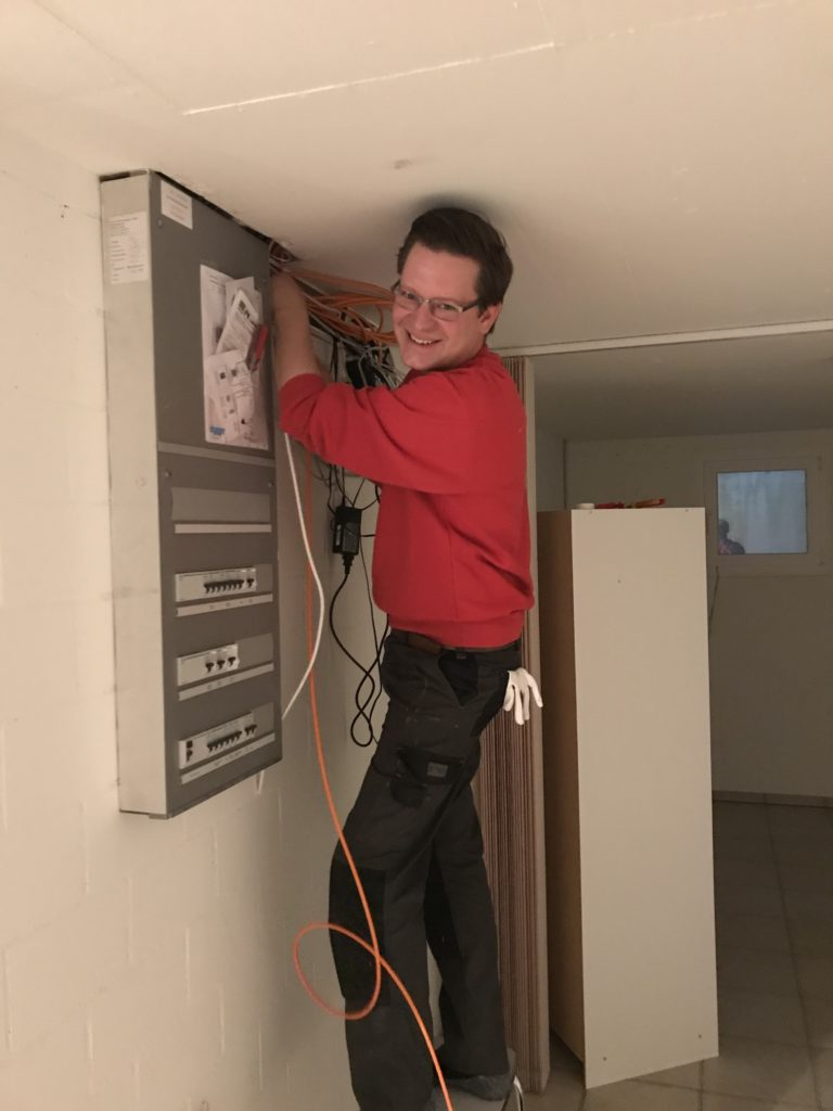 <b>Jürg Rüdlinger</b></br>Elektro / Servicemonteur